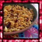 Sweet Cranberry and Coconut Boondi